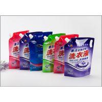 洗衣液包装袋价格 自立吸嘴袋 吸嘴复合袋厂家定做