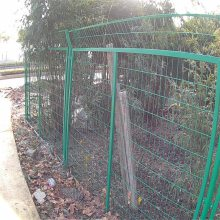 场区护栏网 建筑工地围墙网 旺来厂区防护网