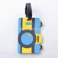 供应佳途时尚行李牌/旅游行李吊牌 登机牌 证件套 旅游用品 蓝色相机