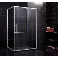特别推出最值得买的淋浴房不锈钢方形平开门