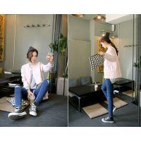 新款女式牛仔裤批发厂家直批修身紧身牛仔裤批发韩版小脚牛仔裤
