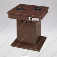 防火板火锅餐桌 烧烤桌子 火锅烤涮一体桌子