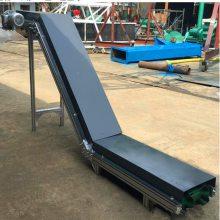 爬坡输送机示意图 小型移动皮带输送机