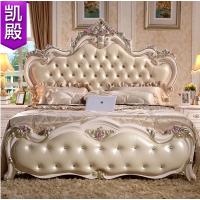 2015新款玫瑰金欧式床 法式高箱双人床1.8米新婚公主床品牌家具