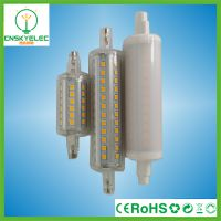 r7s led 10w 118mm 85-265v ce rohs 360°带罩 r7s led