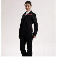 上海徐汇区工作服,夏季女士纯棉短袖T恤工装采购就找华盾商城