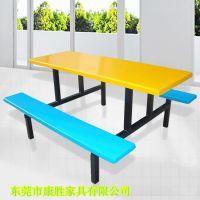 厂家供应深圳员工餐桌椅 工厂员工餐桌椅 员工食堂餐桌椅价格实惠
