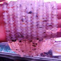 diy手工饰品配件材料 白玛瑙散珠 花玛瑙半成品批发