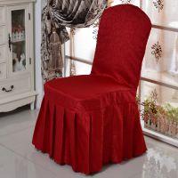 专柜正品 欧式古典印花奢华酒店椅套宴会椅子套加厚加大可定做