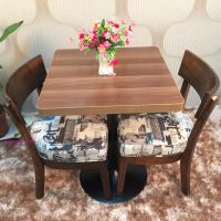海德利优质韩式实木餐厅桌椅 特色家具定制批发