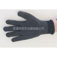 供应韩国可隆 Kevlar凯夫拉芳纶 耐高温防割五级浸胶劳保手套