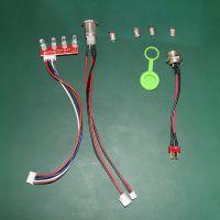厂家供应优质 独轮车配件 开关指示灯 平衡车配件 电动自行车配件
