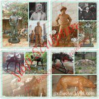 人物铜肖像制作 动物写实铜雕塑定制 园林广场铜雕摆件 铜像订制