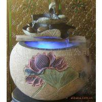 树脂工艺品喷泉流水工艺摆件婚庆礼品水景加湿器