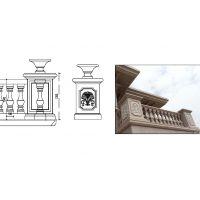 供应设计安装(环境、寺庙、别墅)栏杆、拱桥