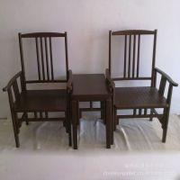 柳将军家具 实木板凳 带扶手的椅子 扶手椅 古典大椅子 餐椅