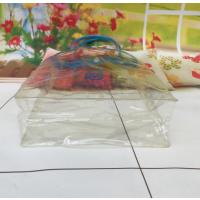 供应厂家直销PVC红酒袋手提袋透明包装袋购物包