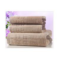 清远批发纯棉吸水面巾浴巾 柔软加厚日用品毛巾