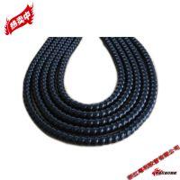 粤利黑色PP 21mm螺旋保护护套 绝缘套管
