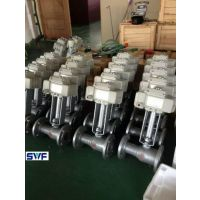 电动高温铸钢开关调节球阀,上海良工阀门, 电动一体式法兰球阀