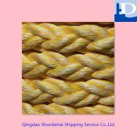 青岛供应高强耐磨八股尼龙缆绳 船用丙纶PP 丙纶长丝锚绳