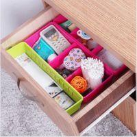 易分类抽屉杂物盒分隔收纳盒底部防滑整理盒创意分类盒自由分隔