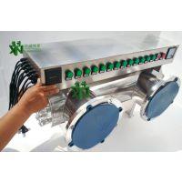 信诺【加工定制】水处理紫外线消毒器155T/H景观水泳池水杀菌除菌设备厂家