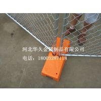 【出口专用】镀锌场区临时护栏网 / 澳洲移动护栏 /河北华久临时护栏