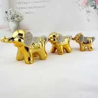 陶瓷三象摆件 吉象三宝 结婚送礼 三八节礼物 家居摆件工艺品特价