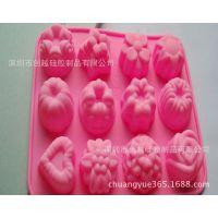 厂家直销硅膠蛋糕模 水果蛋糕烤盘  硅胶餐具 diy烘焙模具