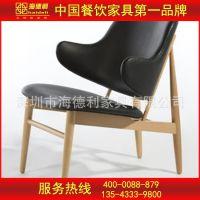 特价供应 咖啡厅时尚现代实木椅子 茶餐厅现代式实木餐椅定做