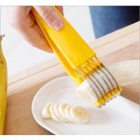 创意不锈钢香蕉黄瓜切片器 安全无毒厨房小工具 一件代发