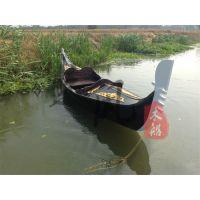 供应景区水库观光贡多拉木船摇橹手划木船服务类船