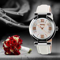 时刻美正品玫瑰花系列女表水钻表 女士手表防水韩版 时尚腕表