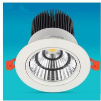 供应led射灯40w卖场嵌入式cob筒灯50w60w家具展厅