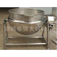 供应强大400L猪肠蒸煮锅/猪下货蒸煮锅