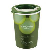 【儿童礼品】迪士尼2014 米奇极简主义双层水杯DSM-1557 马克杯