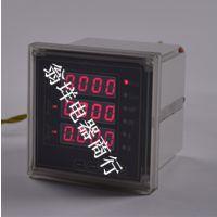 批发三相四线电子电能表 多功能三相电量表 电压电流功率表