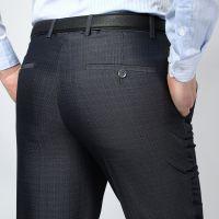 2015春夏新款品牌男士西裤中老年高腰双褶西装裤免烫休闲长裤子