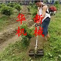果园专用背负锄草机 华新 便携式汽油松土机