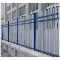 批发小区围墙栅栏 隔离防护栏杆 安平锌钢护栏厂家直销