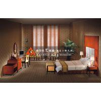 北京板式宾馆酒店套房家具中式宾馆家具TF-166华艺顺鑫
