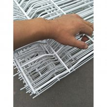 长方形孔护栏厂家 焊接网隔离栅 路边绿色防护网