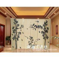 韩式木制装饰屏风时尚 酒店大厅活动屏风隔断墙 客厅玄关进门折屏