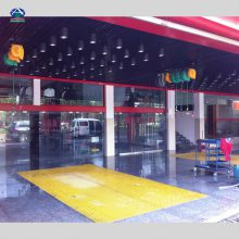 丹东玻璃钢地网格多少钱一块 丹江口汽车美容装饰店地面网格厂家1.22*2.44的玻璃钢格栅厂家