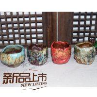 蚌埠走泥陶艺花盆 陶瓷 批发 多肉花盆大 多肉植物花盆 个性创意陶罐