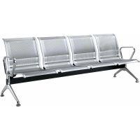 不锈钢连排椅|大厅连排椅/等候椅|4人位不锈钢排椅