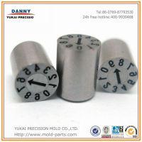 DANNY东莞厂家供应HASCO|DME|PUNCH标准日期章|可更换式日期章|时间标识章 1*80