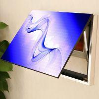 水晶画电表箱装饰画餐厅客厅配电箱遮挡无框液压挂画工艺画冰晶画