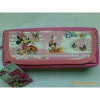 供应迪士尼米奇笔袋 卡通铅笔袋 笔盒/学生文具盒 外贸文具袋5414